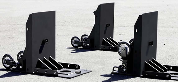 Barricade Vehicle Tractors : Absolute surveillance critical infrastructure systems